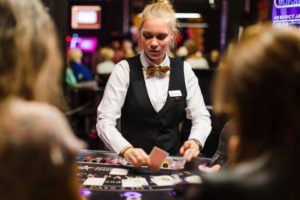 Fun in Knokke - croupiers casino