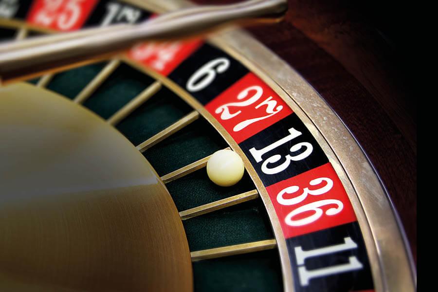 Roulette cijferse en kleuren